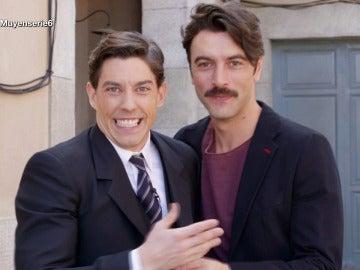 Adrián Lastra y Javier Rey hablan sobre la cuarta temporada de 'Velvet'